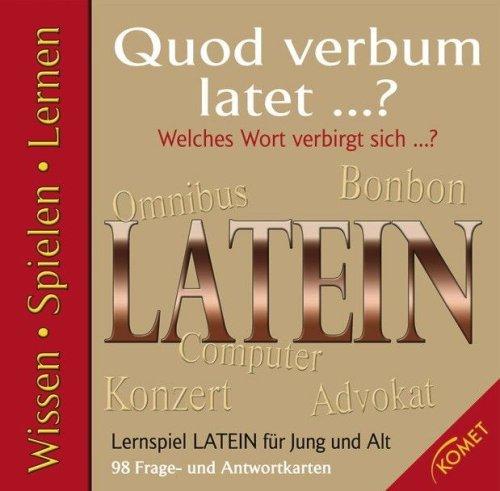 Lernspiel Latein