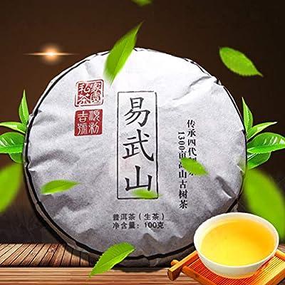 100g (0.22LB) Thé Pu'er cru Thé New Puer Thé vert Thé Pu-erh Thé chinois Thé Puerh santé Vert Bon Yi Wu cha