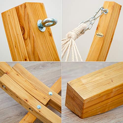 AMANKA Hängematten Holzgestell - 4