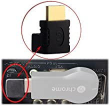 Adaptador HDMI chapado de oro usb Roku Fire, TV TV y Apple
