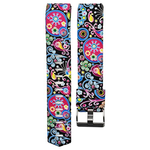 Omiky® Mode 2017 Bunte neue Mode Sport Silikon Armband Strap Band für Fitbit Charge 2