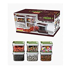 Aristo Houseware, Air Tight Dry Storage system, NEO FRESH No 1, 6 - Pcs BOX, 150ml, 1-Piece