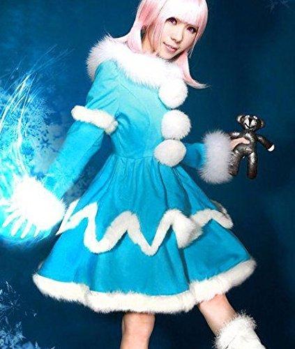 Vivian Lol Champions Annie Cosplay Kostüm(kann angepasst werden),Größe S:(150-160 (Cosplay Annie Lol Kostüm)