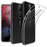 #6: Newlike Bumper Protective & Anti Shockproof Back Case For Nokia 6.1 Plus 2018 Back Cover Case - Transparent