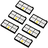 Filters Replacement for iRobot Roomba 800 and 900 series 980 966 960 865 870 875 876 Spare Parts,6pcs