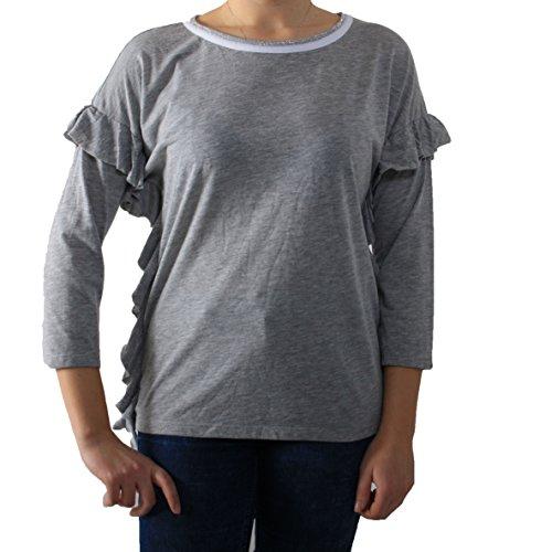 Please - T-shirt - Femme Gris