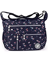 9a441e8a4062 ABLE anti splash water Shoulder Bag Casual Messenger Crossbody Bags (1-Calla  lily flower)  Amazon.co.uk  Shoes   Bags