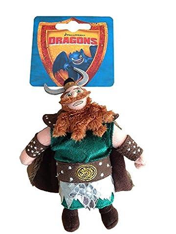 Dragons facile.–Figurine peluche Viking haudrauf–17cm