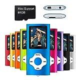 Mymahdi MP3 / MP4 beweglicher Spieler, dunkelblau mit 1.8 Zoll LCD-Schirm und Memory Einbauschlitz, maximale Unterstützung 128GB Memory TF Karte
