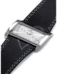 ANTONELLI 960034 - Reloj Unisex movimiento de cuarzo con correa de piel