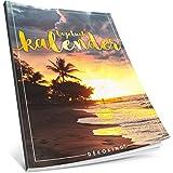 Dékokind® Tagebuch-Kalender: One Line A Day • Ca. A4-Format, Notizseiten & Zitate für jeden Monat • Kalenderbuch, Tagesplaner, Terminkalender • ArtNr. 09 Urlaubsfeeling • Vintage Softcover