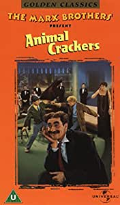 Animal Crackers-Marx Brothers [VHS]