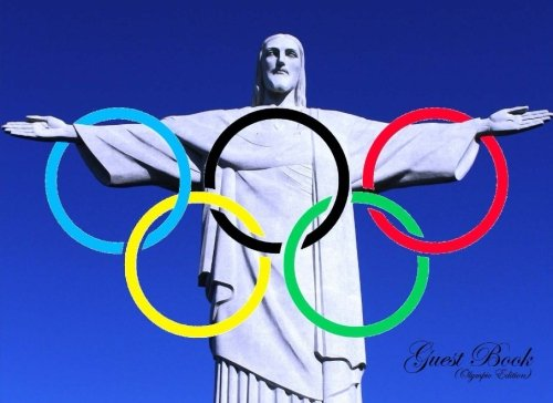 Guest Book (Olympic Edition): Classic Olympics Cover Guest Book (Lined Pages) Option - ON SALE TODAY for JUST $6.99 por Matthew Harper