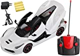 #2: Magicwand® Remote Controlled Rechargeable Ferrari with Opening Doors & Boot (Ivory White)