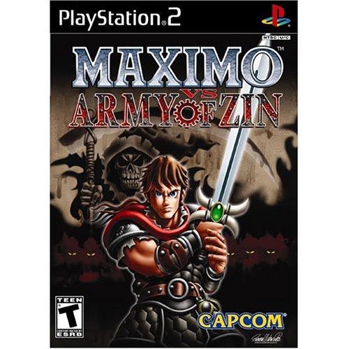 MAXIMO vs ARMY of ZIN (2-maximo Playstation)