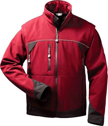 elysee® Softshell Jacke mit abnehmbaren Ärmeln OMEGA (M)