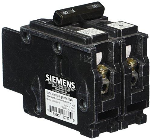Siemens bq2b040l 40-amp Doppel Pole 120/240-volt 10kaic Lug in/LUG Out vorzubeugen (Doppel-pole Line)