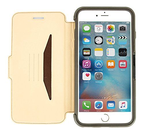 Otterbox Hülle für Apple iPhone 6 Plus / 6S Plus Strada aus Leder - Braun