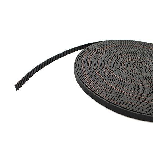 5 meters 3D Printer GT2 Timing Belt – 2mm Pitch, 6mm Width, Reprap Rostock Mendel Prusa