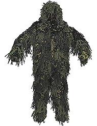 MFH Ghillie Jackal Costume 3D Body System Woodland