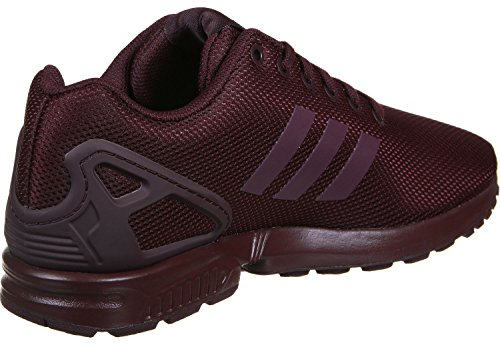 adidas Zx Flux Unisex-Kinder Sneakers Weinrot