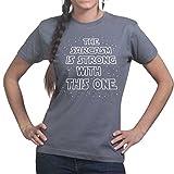 El sarcasmo es fuerte con este un despertar de la fuerza Funny Ladies Womens T Shirt