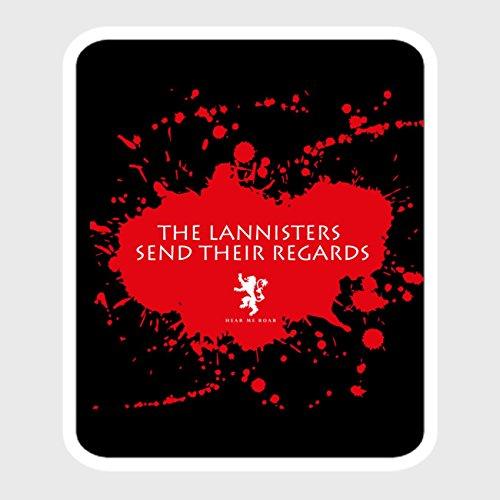 Preisvergleich Produktbild StyloTex Autoaufkleber The Lannisters send their regards - UV geschützt