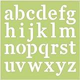 Plantilla de diseño de letras minúsculas Kaisercraft, verde
