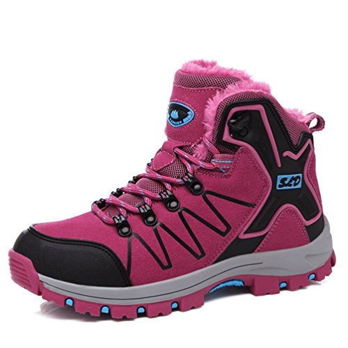Chaussures Escalade Pour Homme Femme Chaussure de Randonnée Outdoor Chaussure de Sport Hiver Étanche
