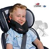 SANDINI SleepFix® Kids Outlast® – Almohada para niños/ Reposacabezas/ Almohada para el cuello con función de soporte – VARIOS COLORES – Disponible exclusivamente con compensación térmica Outlast® – Accesorio para asientos infantiles para automóvil/ bicicleta/ viaje – Diseñada en Alemania/ Fabricada en la UE/ GANADORA del German Design Award 2017