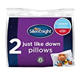Silentnight Just Like Down Pillow Plus - White, Pack of 2