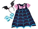 Disney Junior 78185/78186 Vampirina Boo-tiful Dress - Vestido con alas de murciélago y diadema