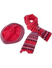 Dirkje - stylish - ensemble de bonnet, écharpe et gant - fille
