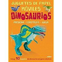 Juguetes de papel móviles. Dinosaurios