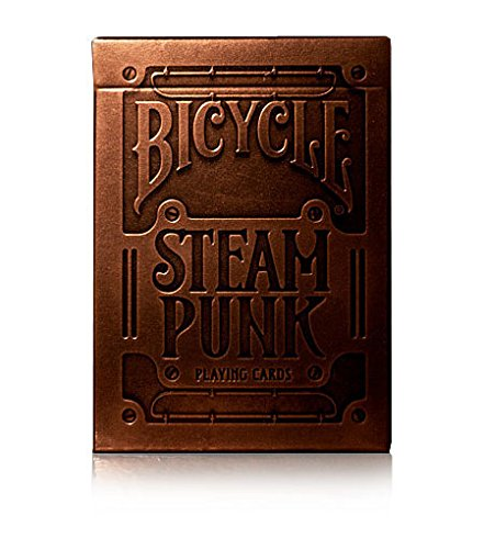 Bicycle Steampunk Deck Playing Cards - Spielkarten von theory11 (Playing Card Deck Box)