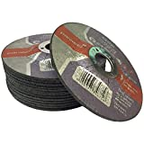 "(PACK OF 10) Parweld 115 x 2.5mm Steel cutting discs - (4.5"" metal cutting discs)"