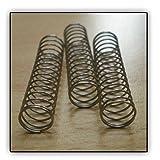 3 Soundman® Ressorts de Piston pour Trompette / Cornet (Force: Moyenne) valve springs