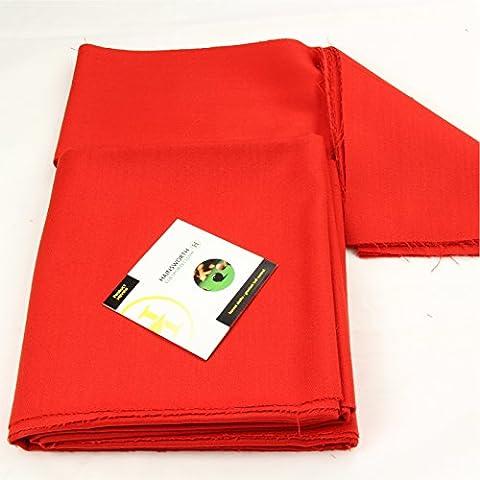 213,36 cm rojo brillante Hainsworth Elite-pro mesa de billar paño