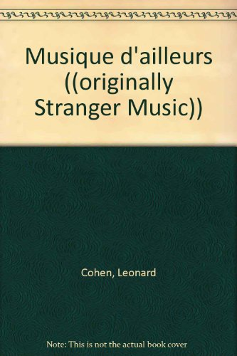 MUSIQUE D'AILLEURS. Tome 1, Anthologie de poèmes et de chansons
