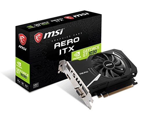 MSI GAMING GeForce GT 1030 2GB GDRR4 64-bit HDCP Support DirectX 12 ITX OC Graphics Card