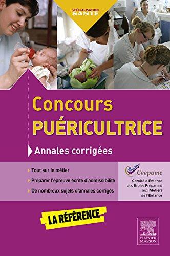 Concours puéricultrice - Annales corrigées