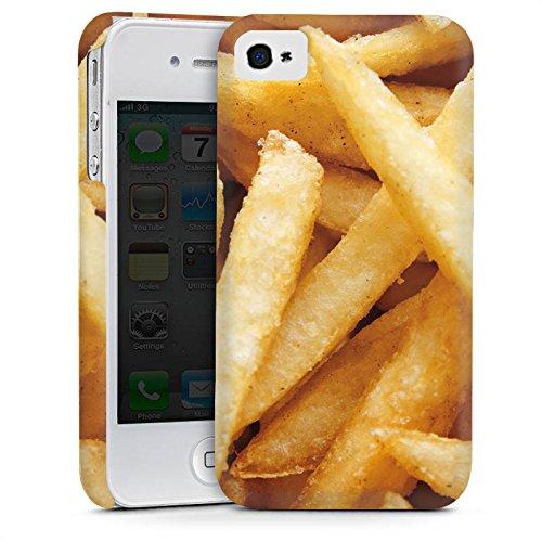 Apple iPhone 5s Housse Étui Protection Coque Pommes Frites Fast Food Cas Premium mat