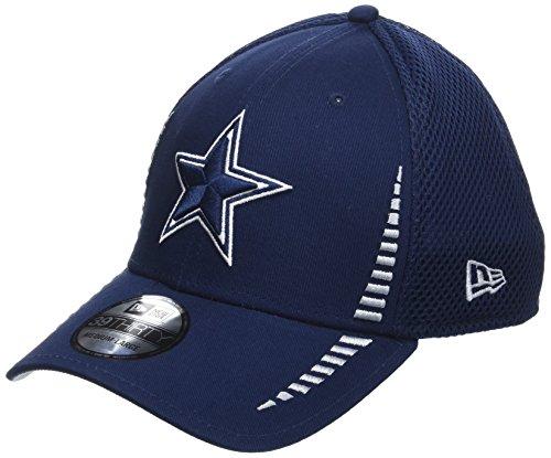 New Era Herren 39THIRTY Stretchfit NE Speed Neo Dallas Cowboys NFL Cap, DK Blue (Baseball-kappen Cowboys Nfl)