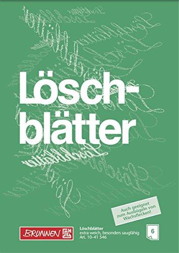 Brunnen 1041546 Löschblattblock (A4, 6 Blatt) (Blotting-blätter)