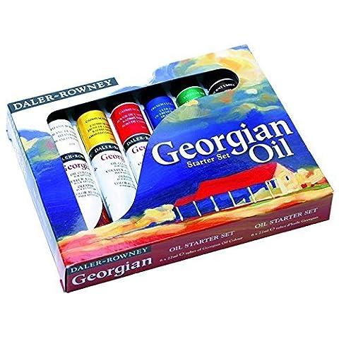 Daler-Rowney GEORGIAN Öl Farbe Starter Set