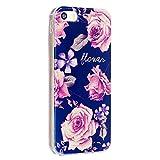 Nancen Apple iPhone 5/5S/SE (4 Zoll) Blitz Pulver Handy Hülle Weich TPU Silikon Case/Hülle/Handyhülle Backcover. Anti-Kratz und Anti-Staub.Blitz Pulver Pfingstrose Rosa