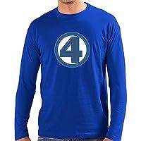 Comparador de precios Camiseta Los cuatro Fantasticos (personalizada con Logo Clasico) (Talla: Talla XL Unisex Ancho/Largo [58cm/76cm] Aprox], Manga Larga) - precios baratos