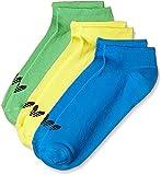 Adidas Trefoil liner Socken, Unisex, Herren unisex - erwachsene, Trefoil Liner, Giallo/Blu/Nero (Aj8899-Limsol/Amaimp/Azuimp/Nero), 43-46
