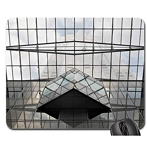 Wasserdicht Anti Rutsch Matte - Mausunterlage - Glasarchitektur-Modernes Errichtendes Büro