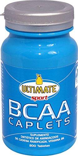 Ultimate Italia BCAA Caplets Aminoacidi Ramificati - 200 Caplets - 51QMNTXV2qL